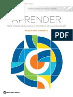 Informe Sobre Desarrollo Mundial 2018, Cedes