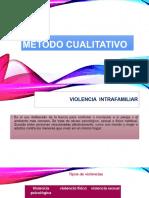 Método cualitativo  violencia intrafamiliar.pptx