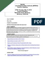 MPRWA Agenda Packet 05-10-18