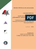 Anais Do II Colóquio de Letramento Linguagem e Ensino
