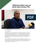 20-04-2018 Ni Cpa Ni Beltrones Tiene Que Ver Con Información Sobre Durazo-pri