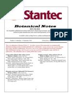 Botanical Notes 13 Addendum