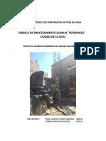 156241165 Informe Tecnico de Perforacion de Pozo de Agua Final