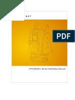 ZTS-360 Mini Series Total Station User Manual