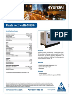 Planta Electrica HY GDH20 I