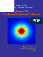 Geophysical Exploration Techniques