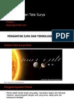 PIK-03. Bumi Dan Tata Surya