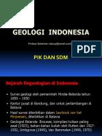 PIK-07 Geologi Indonesia