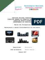 Manual de Mantto Linea Marrón