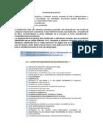 Actividad Económica clasificacion según Ecuador