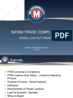 Batam Vessel Load Out Training 201407