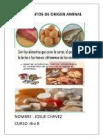 Alimentos de Origen Aminal Impri Mir