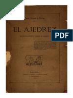 Brunet y Bellet José - El Ajedrez - Investigaciones Sobre Su Origen, 1890-X-427p