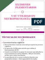 EXÁMENES COMPLEMENTARIOS NEUROIMAGENES