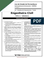 Analista de Saneamento - Engenheiro Civil