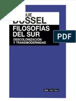 DUSSEL Enrique_filosofias Del Sur Descolonizacion y Transmodernidad_red