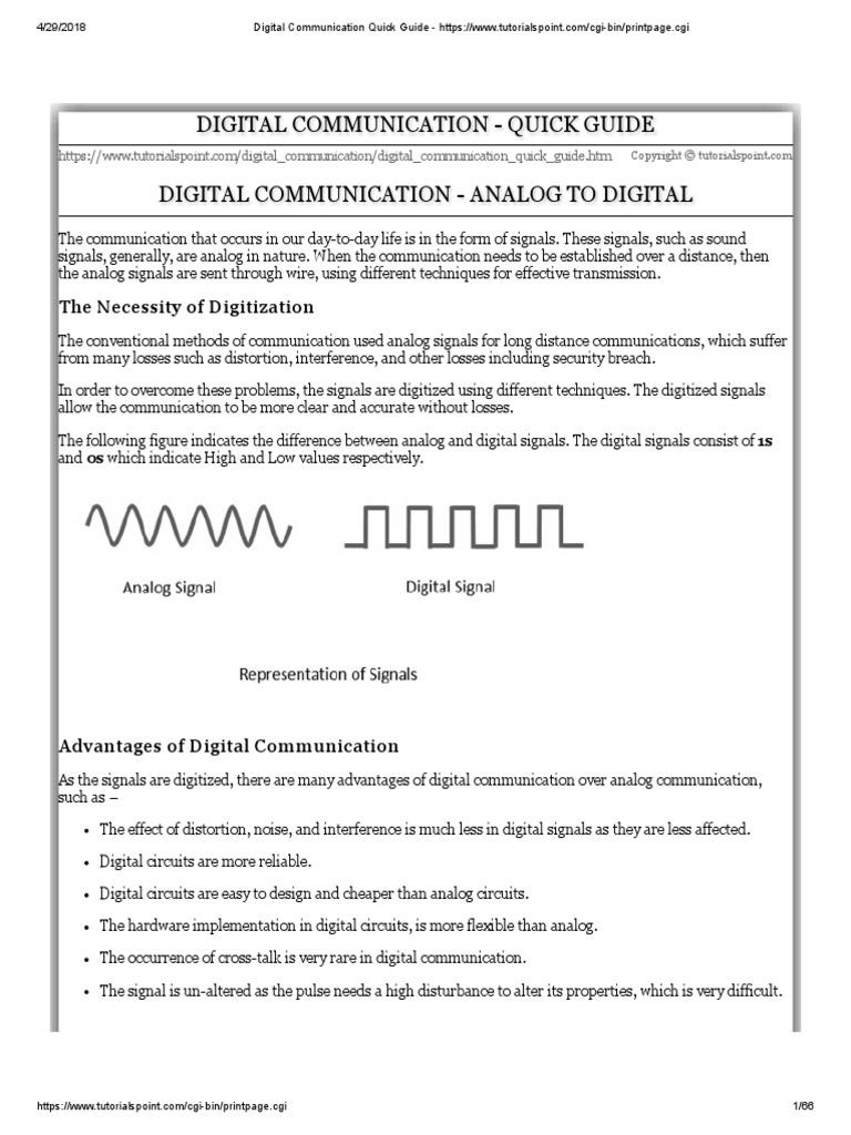 Data Communication Computer Network Tutorial   Digital