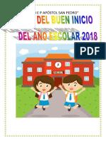 Buen Inicio Del Año Escolar 2018 (1)
