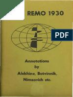 Alechin, Aleksander - San Remo 1930.pdf