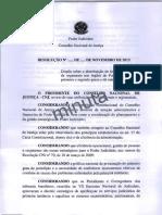 Proposta Resolução CNJ