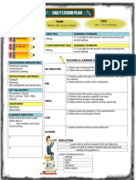 Lesson Plan Template Year 4 Writing