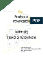 Paralelismo en monoprocesadores - Multithreading.pdf