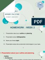 Week 2 Hometodrlyhav