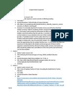 google scholar assignment pdf