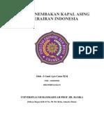 Kasus Penembakan Kapal Asing Di Perairan Indonesia