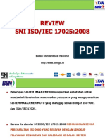 Review Sni Iso-iec 17025-2008