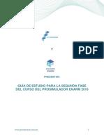 Guía de Estudio Para La Segunda Fase Del Curso Del Prosimulador Enarm 2018 Abril Vf