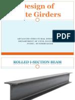 Plate Girders Ppt