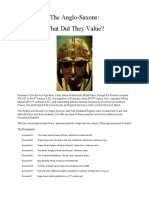 Anglo Saxons DBQ