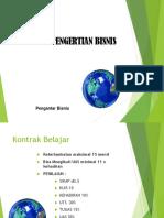 1. Pengertian BISNIS & Bisnis Global-1