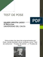 Test-de-Pose