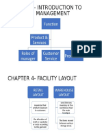 Chapter 1- Introduction to Operation Management