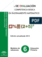 Guia Evaluacion Razonamiento Matematico Primaria