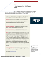 Apolipoprotein E Genotype and Sex Risk Factors for Alzheimer Disease. a Meta-Analysis