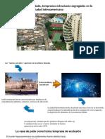 hacia la ciudad fragmentad, temprana estructura segregada de la ciudad latinoamericana