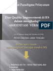Perubahan Paradigma Pelayanan dan Quality Improvement   dala.ppt