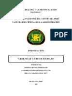 Creencias y Juicios Sociales Terminado