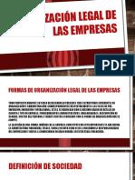 Organización Legal de Las Empresas