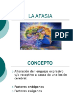 La Afasia Exposicion