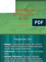3 Sistem Informasi Geografis