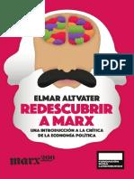 Redescubrir a Marx