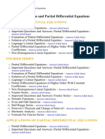 Transforms and Partial Differential Equations - Lecture Notes, Study Material and Important Questions, Answers