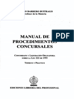 BELM-13817(Manual de Procedimientos Concursales -Barrero)