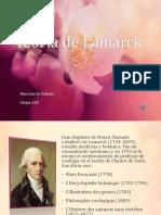 Teoría de Lamarck