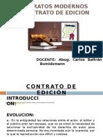 Contrato de Edicion y Factoring y Joint Venture