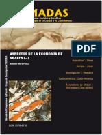 Aspectos de La EconomÃ_a de Sraffa y Extensiones a Partir de Su